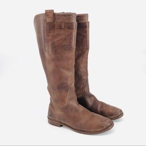 FRYE Paige y'all riding boots 10C wide